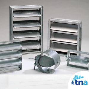 دمپر کانال هوا،دریچه تنظیم هوا،دمپر، کانال سازی