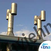 کلاهک دودکش تولید کننده انواع کانال هوا، دریچه هوا، دمپر،لوور و گریل، دودکش و کانال سازی