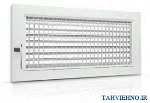دریچه دیواری کولری1 300x206 دریچه تنظیم هوا