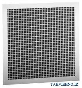 دریچه مشبک آلومینیومی 282x300 دریچه مشبک