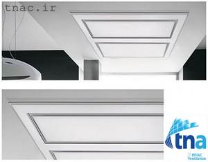 زیر فن کوئل چوبی 300x234 سقف کاذب چوبی MDF