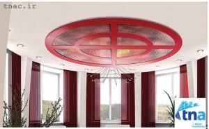 سقف کاذب چوبی5 300x186 سقف کاذب چوبی MDF