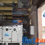 کانال هواساز با عایق 150x150 داکتیران انتقال استاندارد هوا