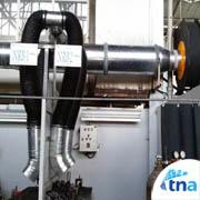 local exhaust کانال هوا،دریچه تنظیم هوا،دمپر، کانال سازی