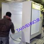 دریچه با رنگ استاتیک کوره ای 150x150 گالری عکس
